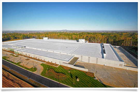 Apple data center (Maiden, North Carolina, exterior 001)