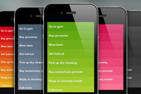 Clear 1.1 for iOS (iPhone screenshot)