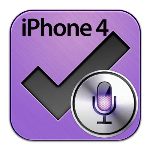 OmniFocus for iPhone4 Siri