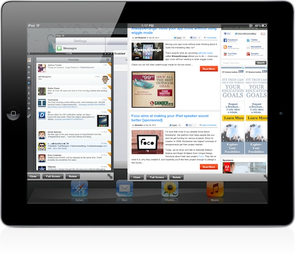 New iPad jailbreak tweak 'Quasar' allows for true iPad