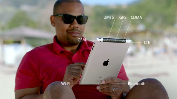 iPad 3 promo video (wireless and cellular networking)