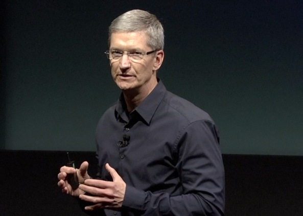 Apple event 20111004 (iPhone 4S unveiling, Tim Cook closeup 001)