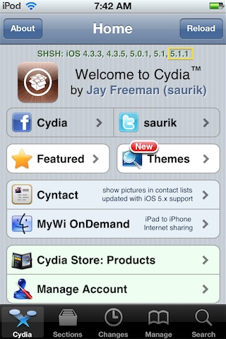 Save your shsh blobs for ios 5. 1. 1.