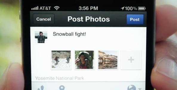 Facebook camera (promo video, posting images 001)