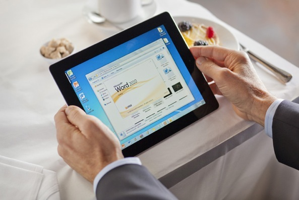 Office online on iPad