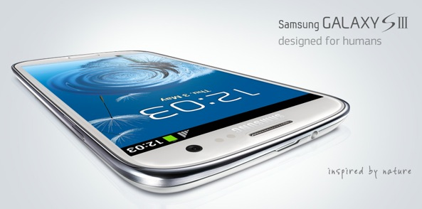Samsung Galaxy S III teaser (inspired by nature, designed by humans)