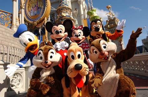 Walt Disney World (Disney characters)