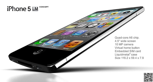 iPhone 5 Liquidmetal concept (image 001)