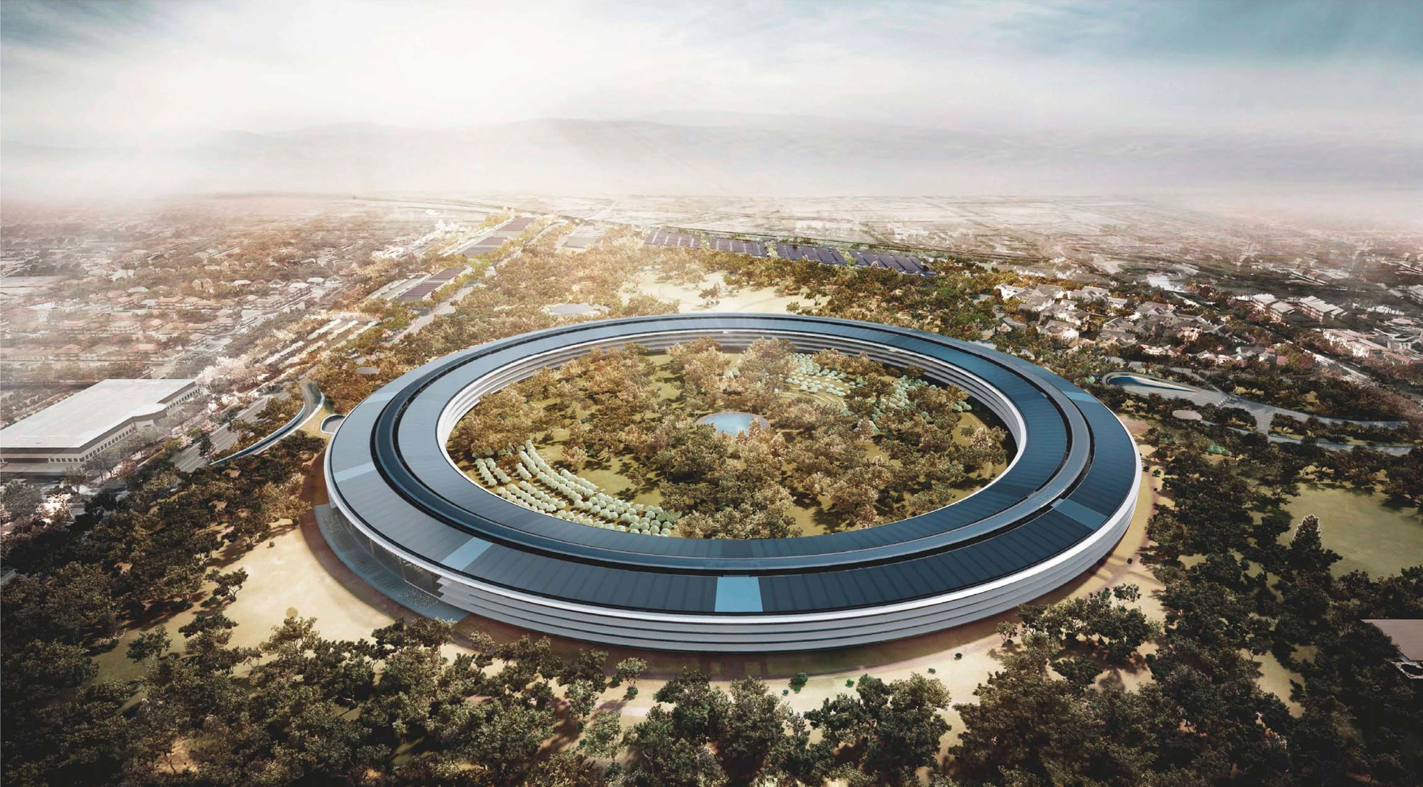 Apple Campus 2 (Rendering 001, Retina-optimized)
