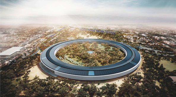 Apple Campus 2 (Rendering 001)