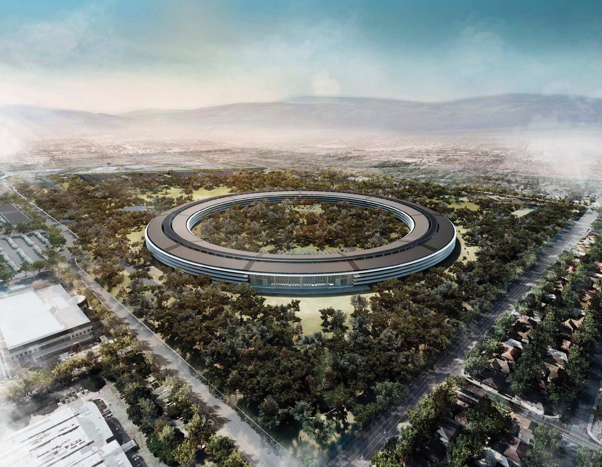 Apple Campus 2 (Rendering 003, Retina-optimized)