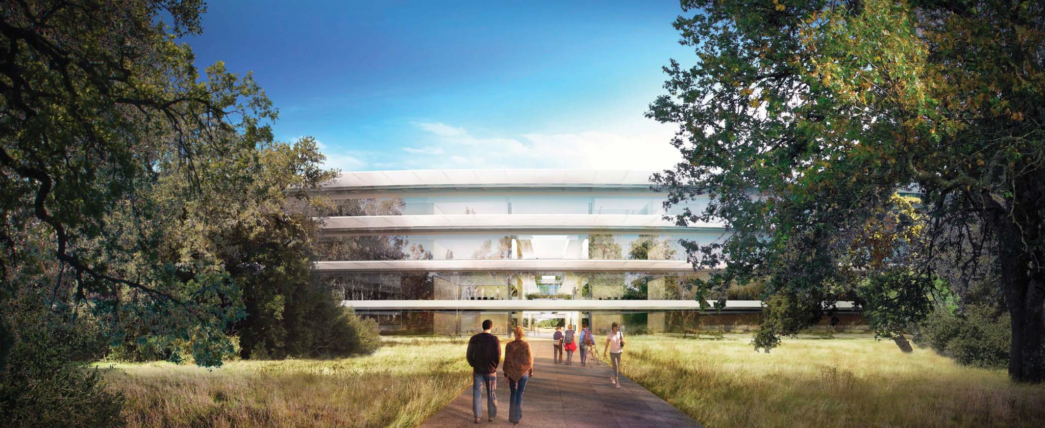 Apple Campus 2 (Rendering 005, Retina-optimized)