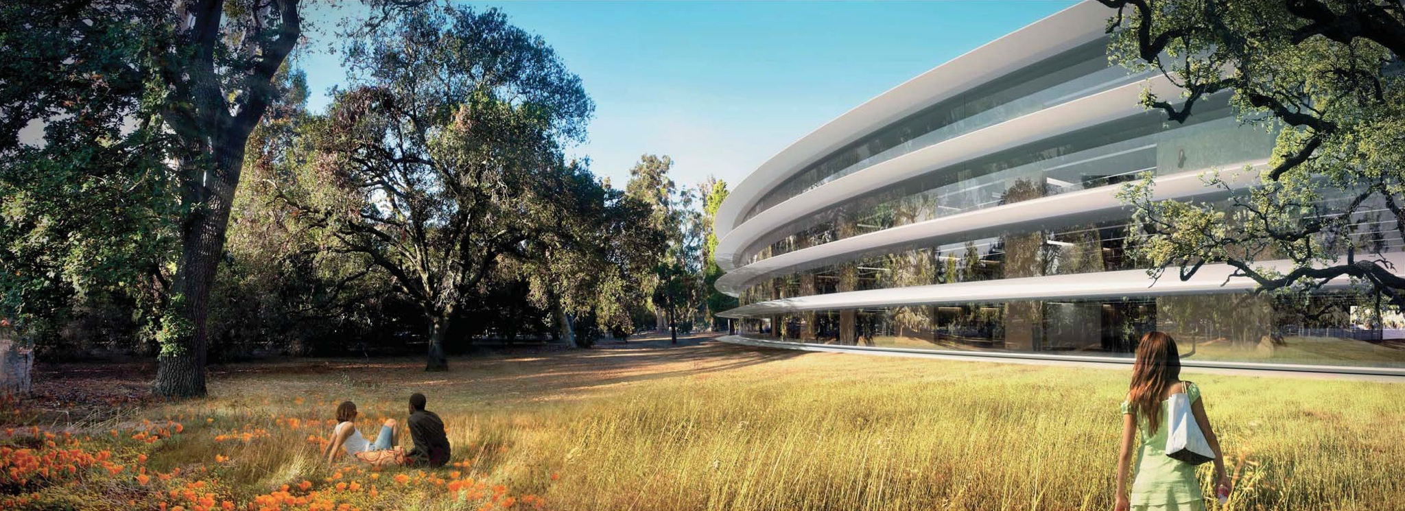 Apple Campus 2 (Rendering 007, Retina-optimized)