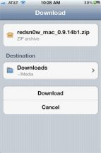 How to download files to iPhone in Documents?