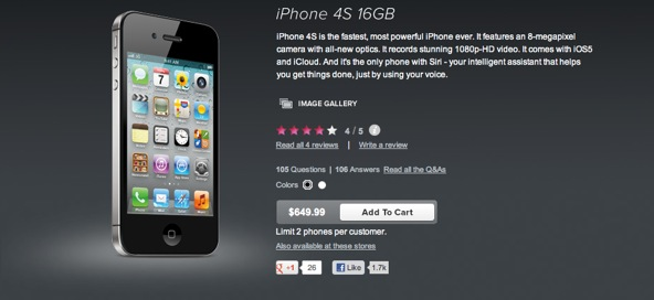 Prepaid iPhone lands on Virgin Mobile, also available via