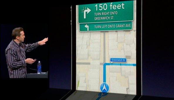 WWDC 2012 keynote (Scott Forstall, turn by turn)