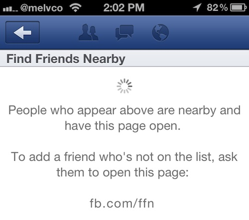 Facebook App Updated With New 'Find Friends Nearby' Feature