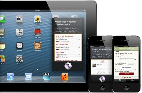 iOS 6 (Siri, Restaurants)