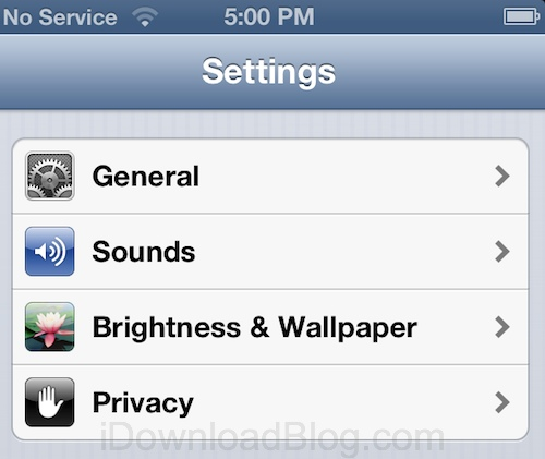 privacy ios 6 1