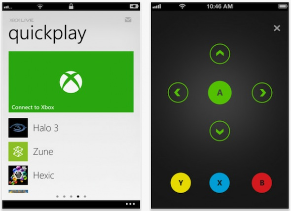 Updated Xbox Live app lets you control your console with your iPhone