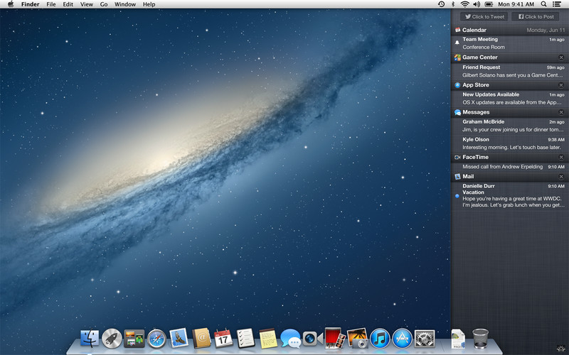 OS X Mountain Lion (Desktop)