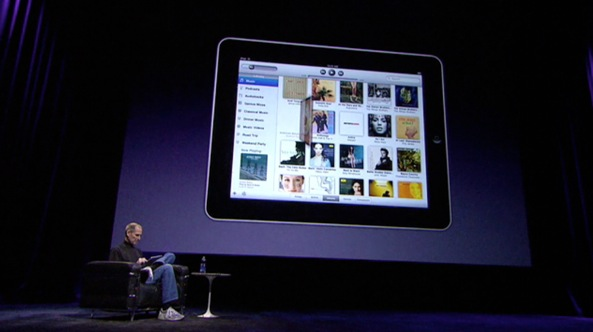 iPad introduction 201004 (Steve Jobs demo 001)