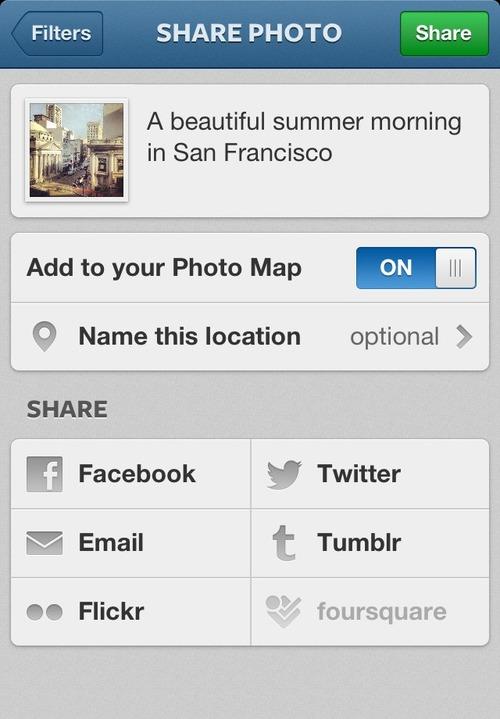 Instagram for iOS 3.0 (iPhone screenshot 001)