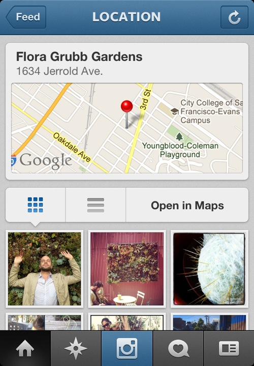 Instagram for iOS 3.0 (iPhone screenshot 006)