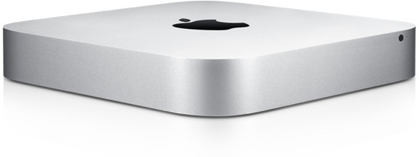 Mac mini (front, left angled)