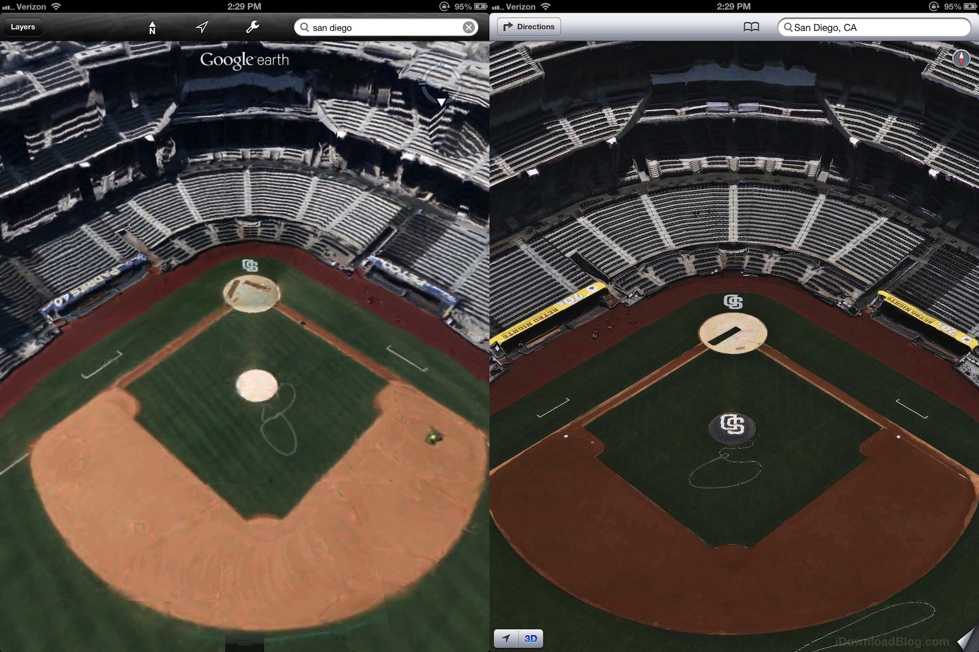 Apple S 3d Maps Look Much Better Than Google S