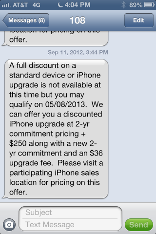 An iPhone 5 upgrade for on-contract AT&T customers might be ...