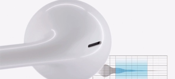 Apple EarPods (air holes 001)
