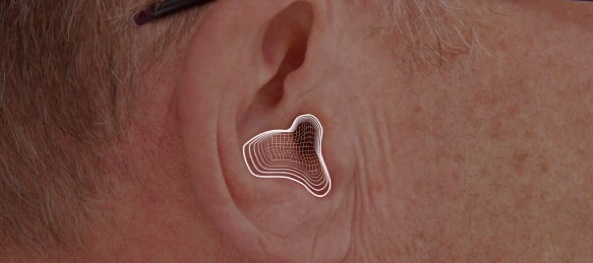 Apple EarPods (promo video, 3D ear scan)