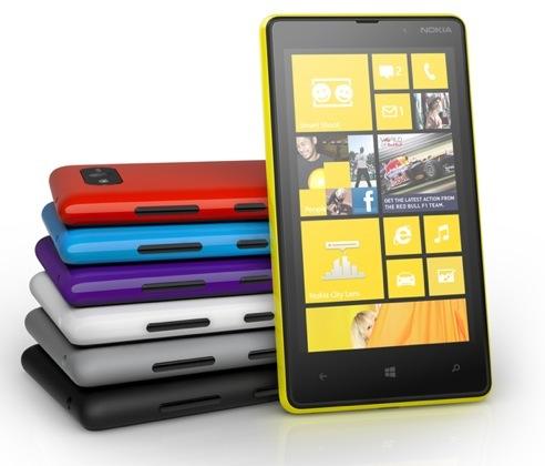 Nokia Lumia 820 (colors)