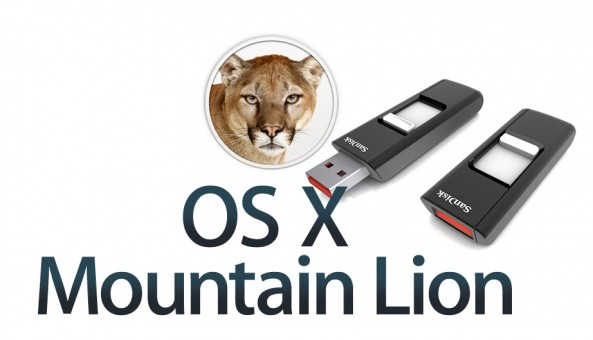 OS X Mountain Lion USB Boot Disk Teaser