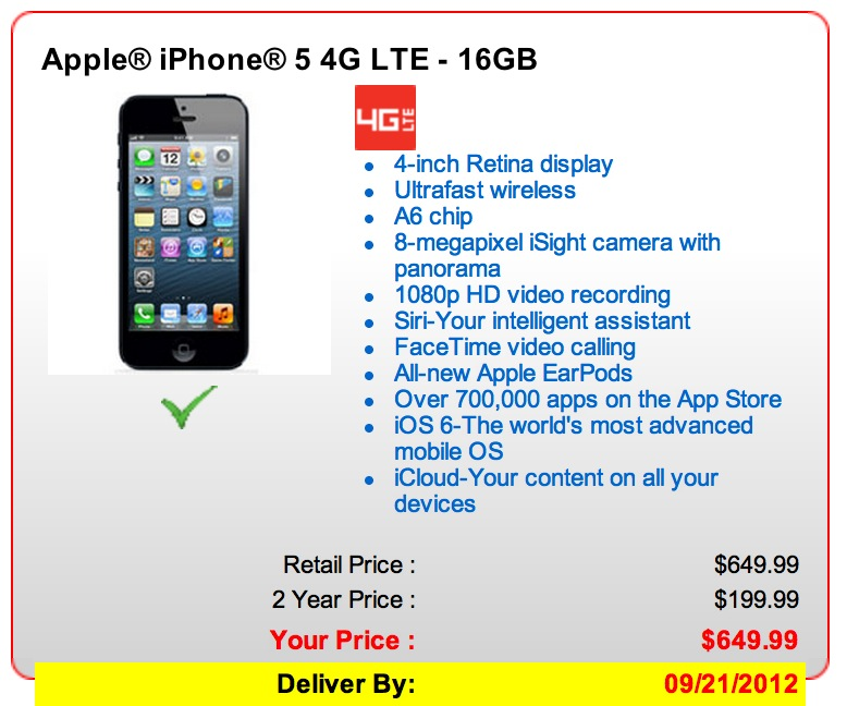 How to pre,order an off contract iPhone 5 from Verizon or AT\u0026T