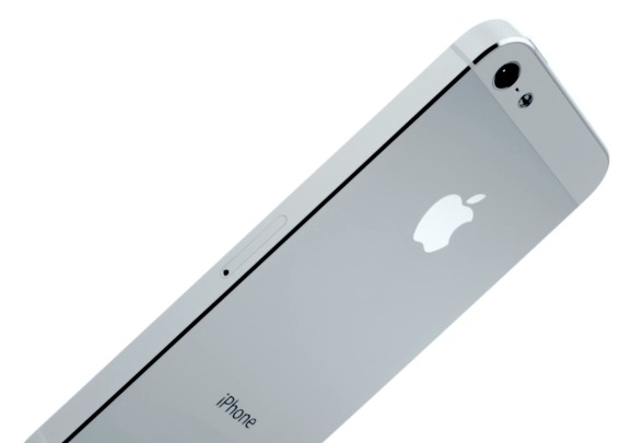 iPhone 5 (introduction video, white, perspective 001)