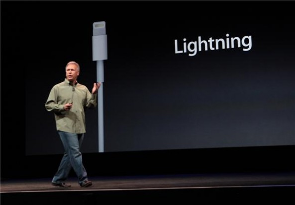 iPhone 5 lightning