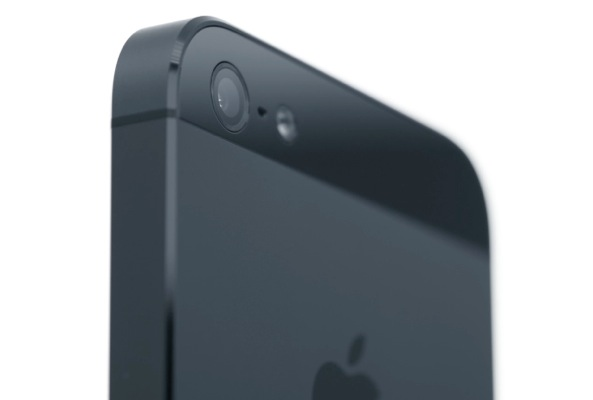 iPhone 5 promo video (back, black, camera closeup 001)