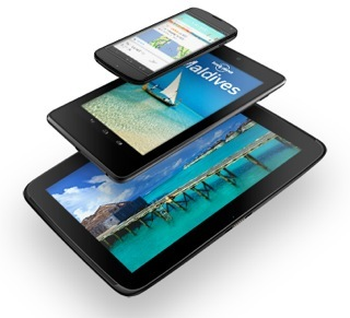 Nexus devices (stack, Nexus 4, Nexus 7, Nexus 10)