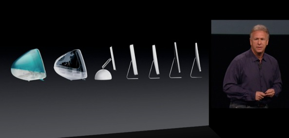 Phil Schiller (iPad mini event, iMac evolution)