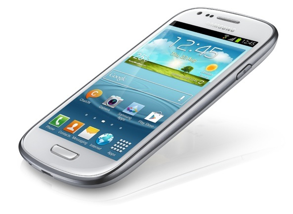 Samsung Galaxy S III Mini (left angled)