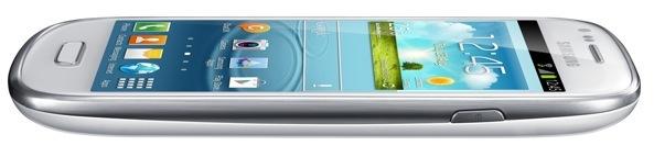 Samsung Galaxy S III Mini (profile, angled)