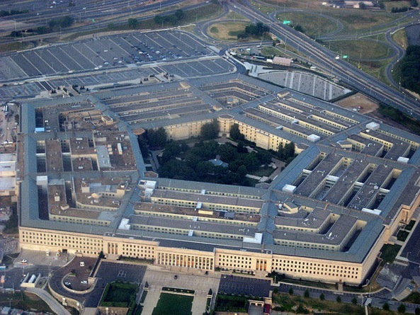 The Pentagon aerial shot