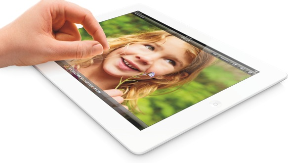 iPad mini (flat, finger)