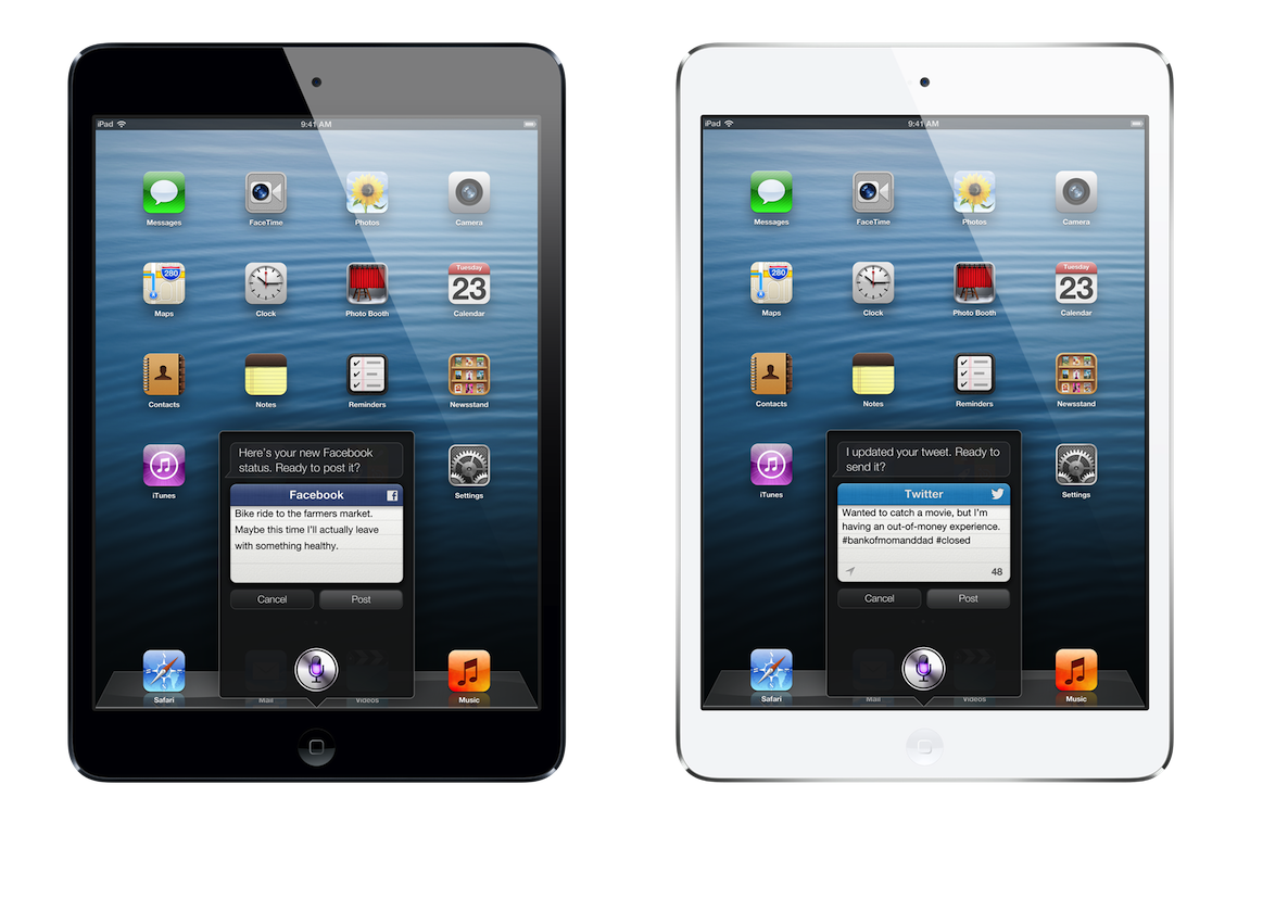 iPad mini siri 4