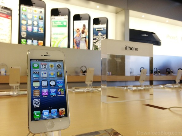 iPhone 5 (Apple STore, whats in the box)