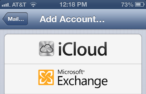 ios 6 exchange