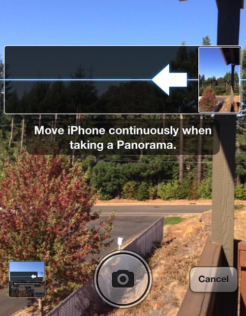 panorama reversed