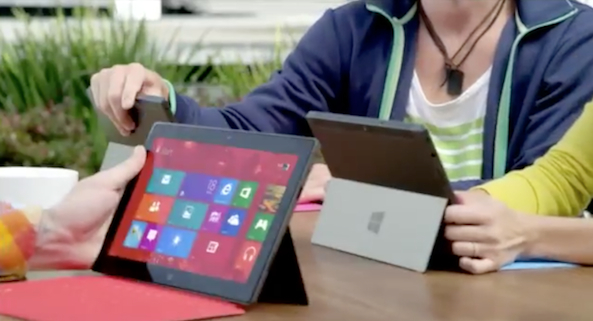 surface tv spot ss